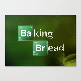Baking Bread Canvas Print