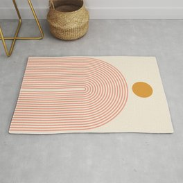 Abstraction_SUN_LINES_VISUAL_ART_Minimalism_001 Rug