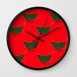 LUXURY COLLECTION : MOROCCO Mandarines Wall Clock