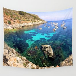 left my heart in sicily Wall Tapestry