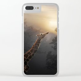 Reaching Clear iPhone Case