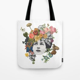 Head in the Flowers Tote Bag