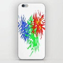Splashing Colours iPhone Skin