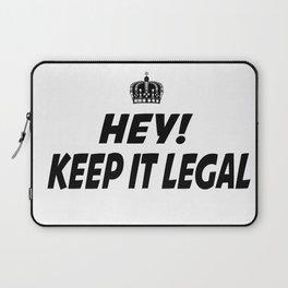Keep It Legal Laptop Sleeve