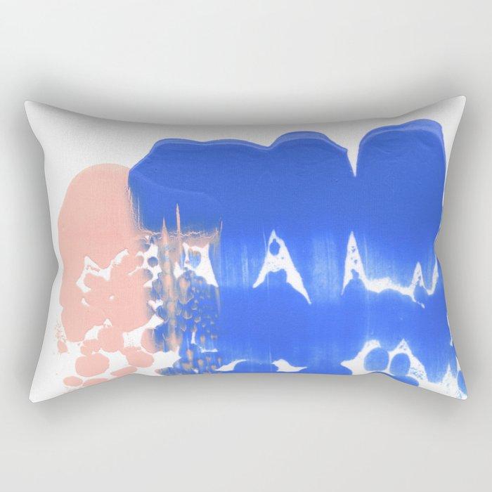 Painted Reflection Rectangular Pillow