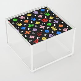 Takarazukushi Neon Motif Acrylic Box
