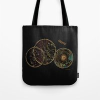 gypsy Tote Bags featuring Gypsy by Sherri of Palm Springs   Art and Design