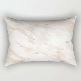 Marchionne warm caramel marble Rectangular Pillow