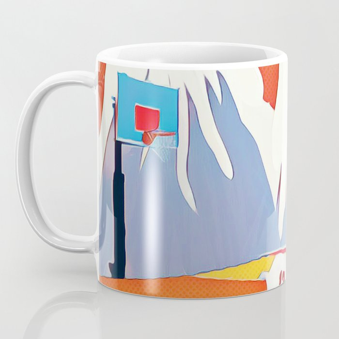 Goat in court Coffee Mug