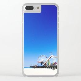 AROUND THE WORLD // SANTA MONICA PIER I Clear iPhone Case