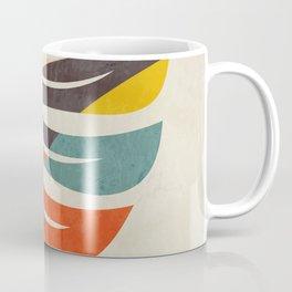 shape leave modern mid century Coffee Mug