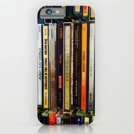Music Cds iPhone Case