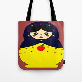 Snow White Nesting Doll Tote Bag