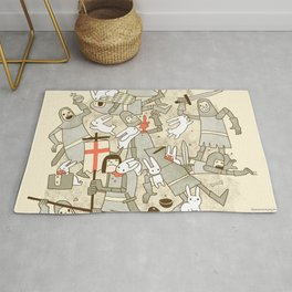 Bad Tempered Rodents Rug