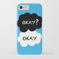 tfios iPhone & iPod Cases featuring TFIOS - Okay by //SOLIDS//