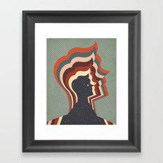Starman Framed Art Print