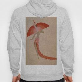 "Art Deco Illustration ""Swan Theatre Costume"" Hoody"