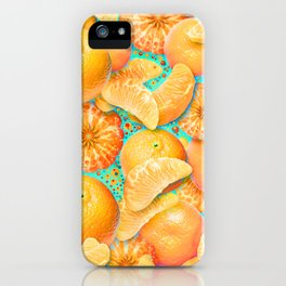 Clementine iPhone Case