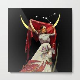 Fridas new moon Metal Print