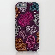 Arabic hamsa hand of Fatima art pattern design Slim Case iPhone 6