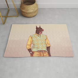 Rudolph the Great Dane Rug