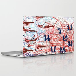 Thai dye  Laptop & iPad Skin