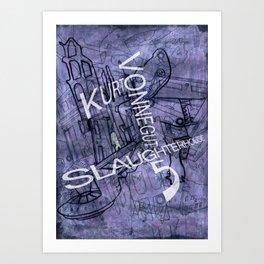 Slaughterhouse 5 Art Print
