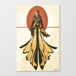 Butterfly Attire Canvas Print