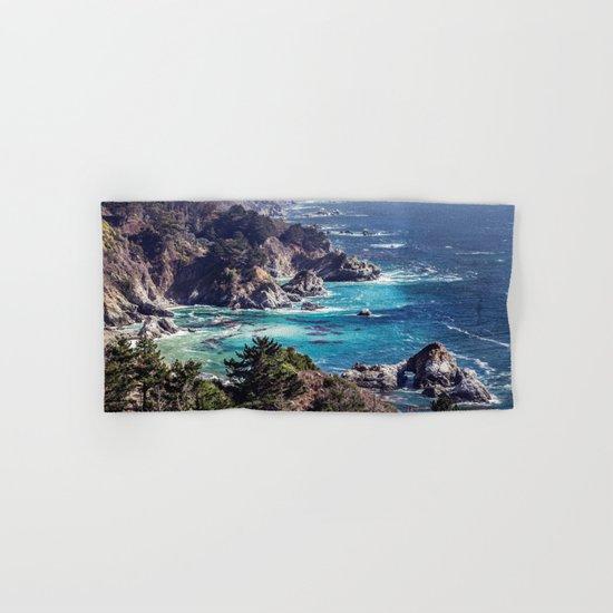 Coastline sea Hand & Bath Towel