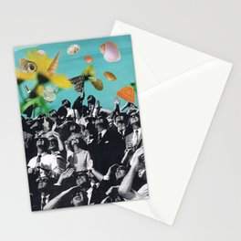 Floating Above Stationery Cards