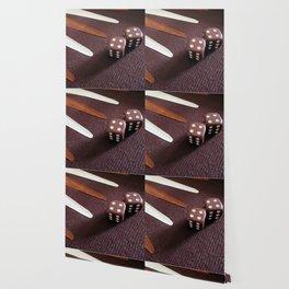 Backgammon dice double Wallpaper