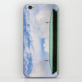 Looking Upward to the Summer Sky iPhone Skin