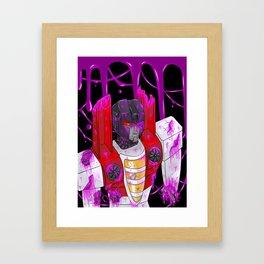 Starscream Framed Art Print