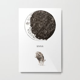 Sinna Metal Print