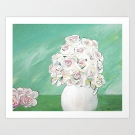 From the Garden Art Print