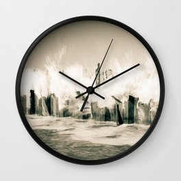 The Cruel Sea Wall Clock