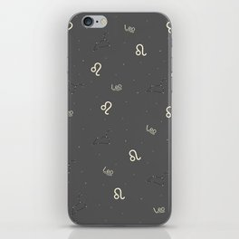 Leo Pattern iPhone Skin