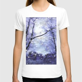 The Magic Of Winter Evening T-shirt
