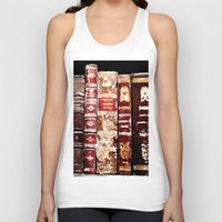 books Tank Tops featuring Books by Regan's World