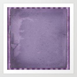 Violets are blue xxx Art Print