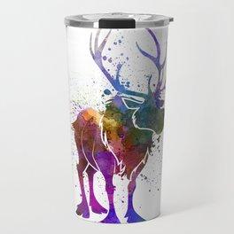 Sven in watercolor. Travel Mug
