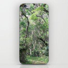 Hiking in Florida iPhone Skin