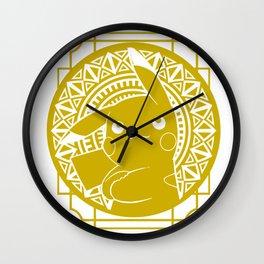 Stained Glass - Pokémon - Pika Wall Clock