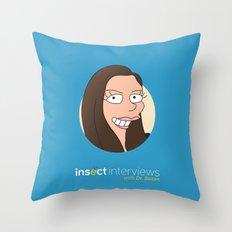 Dr. Susan Throw Pillow