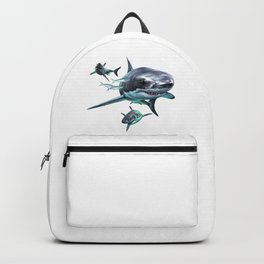 Great White Sharks Backpack