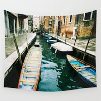 venice Wall Tapestries featuring Venice by Victor Senkov
