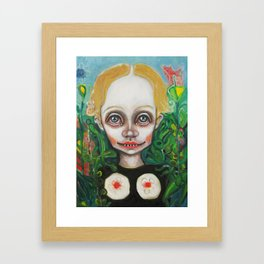 Garden Eden Framed Art Print