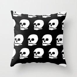 Bone Head Throw Pillow