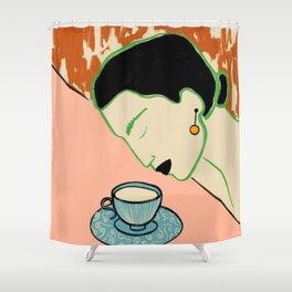 SILENT JOY Shower Curtain