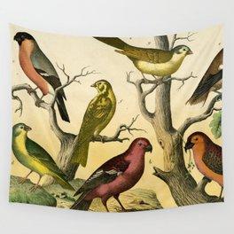 7 Birds Wall Tapestry